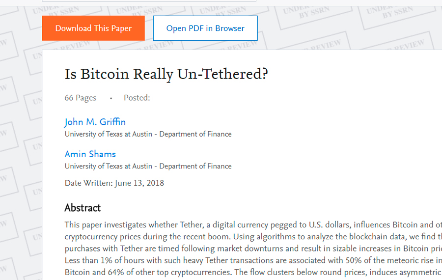 Tether dating site